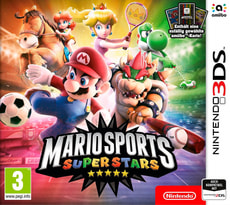3DS - Mario Sports Superstars + amiibo-Karte