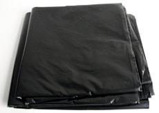 Abdeckplane schwarz 4x5m gefaltet, 75m