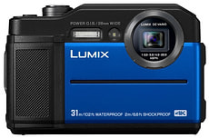 Lumix DC-FT7 blau