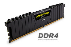 memoria principale (RAM)Vengeance LPX nero 2x 8GB DDR4 2666 MHz