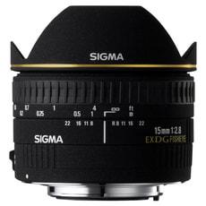 15mm/2.8 EX DG Diagonal Fisheye Canon