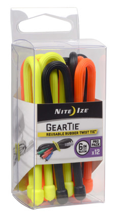 NI GearTie 6'' ProPack 3 Farben