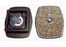 Plaque de remplacement (41x41mm) avec cam