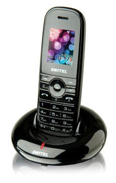 DF1201 schwarz Funktelefon