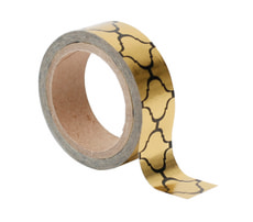 Washi Tape, Kette Gold