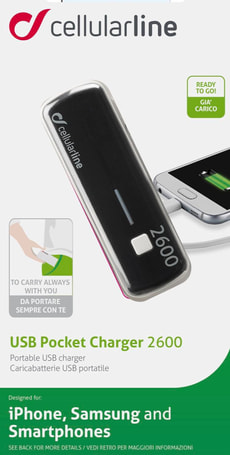 USB Pocket Charger 2600