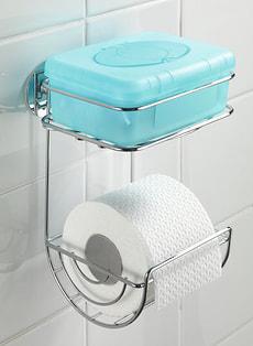D rouleur papier WC avec  tagère Turbo-Loc