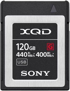 XQD Card 120GB QDG120F 440MB/s