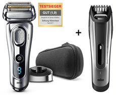 rasoio Series 9-9260s + Beardtrimmer BT5090