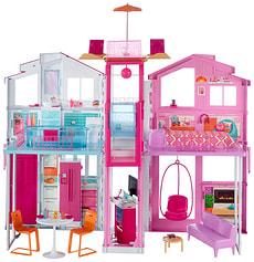 Barbie 3-Etagen Stadthaus