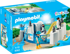 Playmobil Family Fun Vasca dei Pinguini 9062