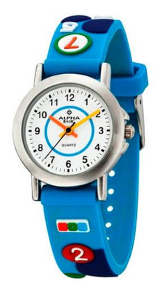 AB Kids 123 blau Armbanduhr