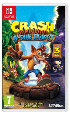 Switch - Crash Bandicoot N. Sane Trilogy (F)