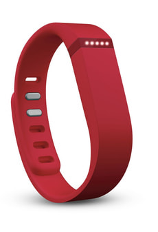 Flex Activity Tracker rosso