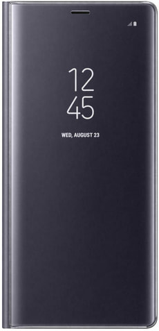 Clear View Samsung S9 orchid gray