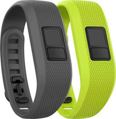 Vivofit Armband - grau/grün