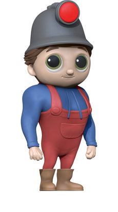 Wichtel Hörspiel-Figur Tom