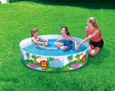 Piscine Quick Set  Safari pour enfants