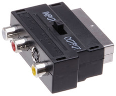 Scart Adapter IN und OUT