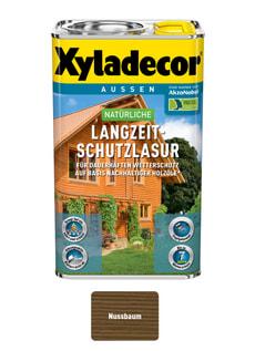 natürliche Langzeitschutzlasur Nussbaum 2.5 l