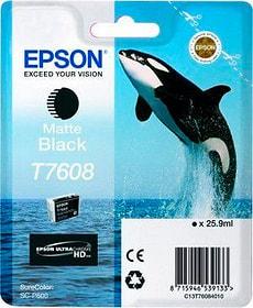 T7608 Tintenpatrone matte black