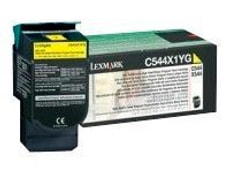 cartuccia di toner return C544X1YG, giallo