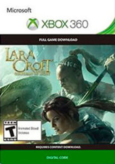 Xbox 360 -Lara Croft and the Guardian of Light