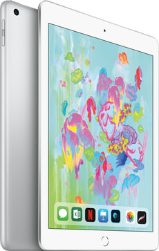iPad Education WiFi 128 GB silver + 3 Monate Teleboy Comfort