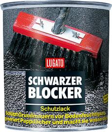Schwarzer Blocker Schutzlack