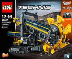 Technic La pelleteuse à godets 42055