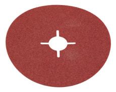 Disques à poncer, pour métal, ø 115 mm, K80