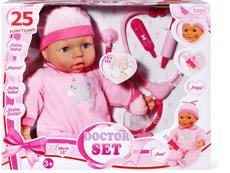 Bayer Puppe mit Doktorset 38 cm