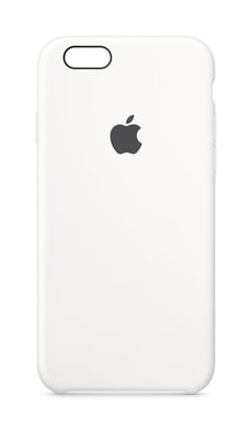 Silicone Case iPhone 6/6s weiss