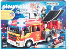 City Action Löschgruppenfahrzeug mit Licht und Sound 5363