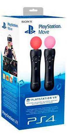 PS4 Move MotController (Twin Pack)