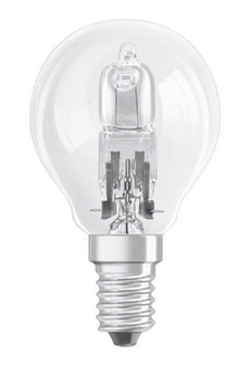 Halogen E14 30W DUO