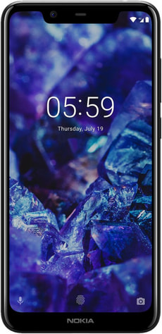 5.1 Plus Dual SIM 32GB Midnight Blue
