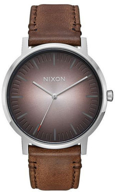 Porter Leather Ombre Taupe 40 mm
