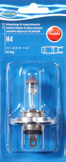 Ampoule halogène H4