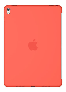 iPad Pro 9,7 pouces coque en silicone abricot