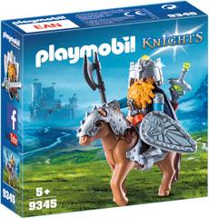 Playmobil Combattant nain et poney