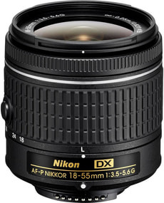 Nikkor AF-P DX 18-55 1:3,5-5,6G Objektiv