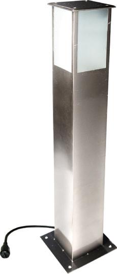 EASY CONNECT Lichtturm Inox 70 cm