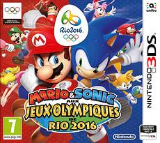 3DS - Mario & Sonic aux Jeux Olympiques de Rio 2016