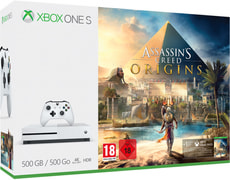 Xbox One S 500GB inkl. Assassin's Creed Origins