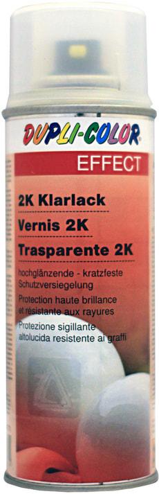 Vernice trasparente bicomponente spray
