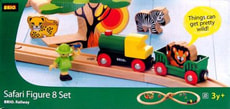 05/10 BRIO SAFARI BAHN 8 SET