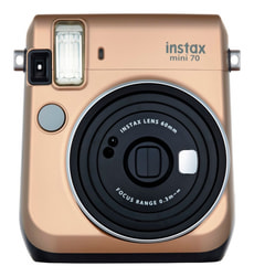Instax Mini 70 Gold