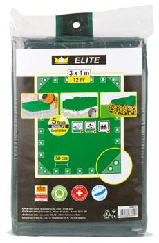 Telone tessile elite verde 3 x 4 m