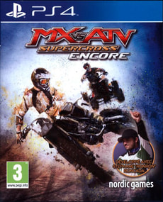 PS4 - MX vs ATV: Supercross Encore